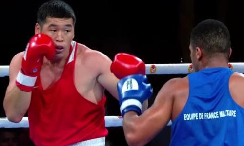 Казахстанский тяжеловес побил бывшего соперника Василия Левита в полуфинале ЧМ-2021 по боксу среди военнослужащих