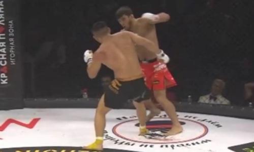 Видео полного боя Куат Хамитов — Мариф Пираев на AMC Fight Nights