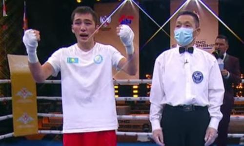 Казахстанский боксер побил чемпиона России и выиграл второе «золото» на ЧМ-2021 среди военнослужащих