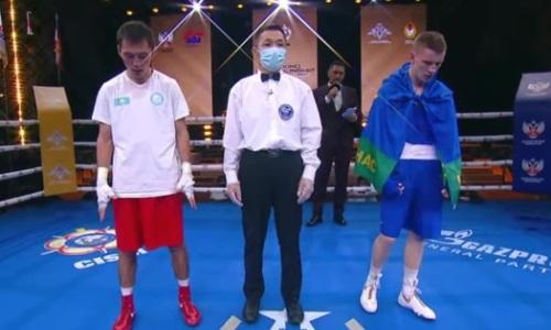 Казахстан со скандалом лишили «золота» чемпионата мира по боксу среди военнослужащих