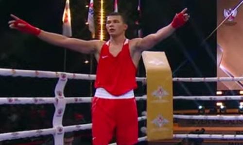 Казахстанский боксер побил чемпиона Европы и выиграл «золото» ЧМ-2021 среди военнослужащих