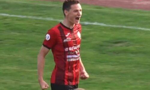 Гол казахстанского футболиста завершил разгром в европейском чемпионате