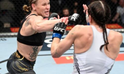 Видео полного боя Валентина Шевченко — Лорен Мерфи с ярким нокаутом и очередной защитой титула UFC