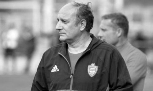 Бывший главный тренер «Окжетпеса» скончался в возрасте 55 лет