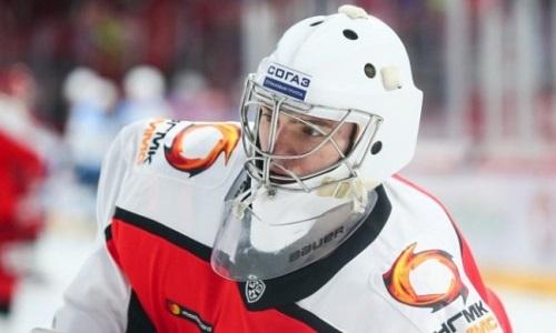 21-летний голкипер совершил 53 сейва в матче КХЛ перед игрой с «Барысом»