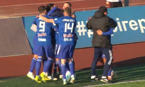 Сенсацией завершился первый матч 22-го тура Премьер-Лиги
