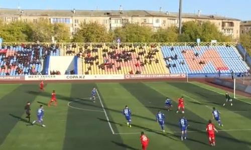 Видеообзор матча Премьер-Лиги «Кызыл-Жар СК» — «Туран» 0:1