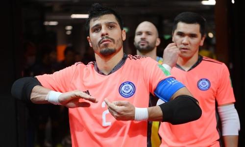 Прямая трансляция матча Иран — Казахстан за выход в полуфинал ЧМ-2021 по футзалу