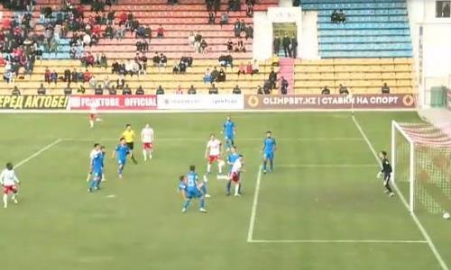 Видео гола Балашова матча Премьер-Лиги «Актобе» — «Жетысу»