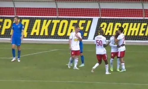 Видео гола Мукама матча Премьер-Лиги «Актобе» — «Жетысу»