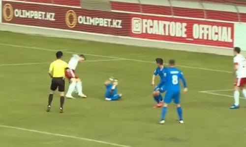 Видеообзор матча Премьер-Лиги «Актобе» — «Жетысу» 2:0