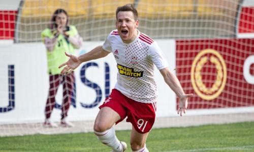 «На этом нельзя останавливаться». Балашов поделился эмоциями от первого гола за «Актобе» и секретом победы над «Жетысу»