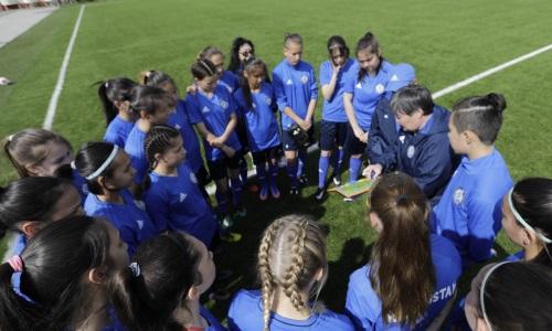 Женская сборная Казахстана до 17 лет проиграла со счетом 0:7 в отборе на ЕВРО-2022