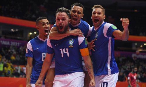 Стала известна первая полуфинальная пара ЧМ-2021 по футзалу с участием сборной Казахстана