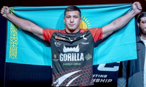 Непобежденный казахстанский боец вернется в октагон на турнире Eagle FC в Сочи