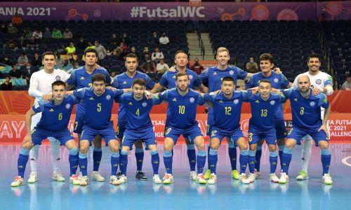 Игрок сборной Казахстана рассказал о разгроме Таиланда и новой цели своей команды на ЧМ-2021 по футзалу
