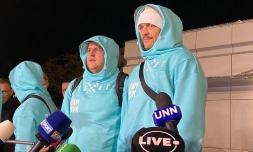 Усик вернулся в Украину после победы над Джошуа и сделал заявление. Фото и видео