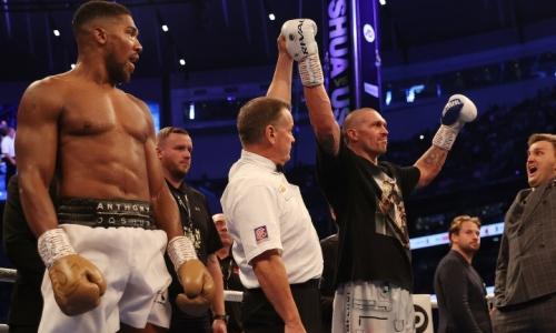 «Какой же Усик классный боксер». Несостоявшийся соперник Головкина отреагировал поражение Джошуа