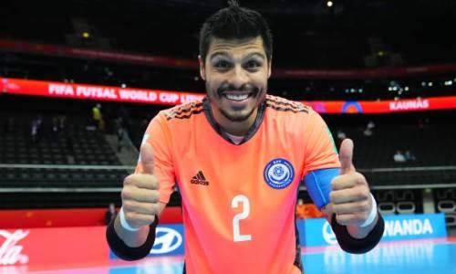 «Я не сомневаюсь». Вратарь сборной Казахстана поделился ожиданиями от матча с Ираном на ЧМ-2021 по футзалу