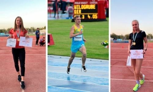Казахстанские легкоатлеты завоевали три «золота» на Чемпионате Азии
