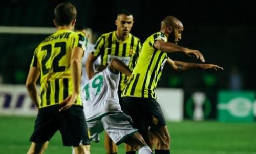 «Кайрат» разгромно проигрывает «Базелю» после первого тайма в матче Лиги Конференций