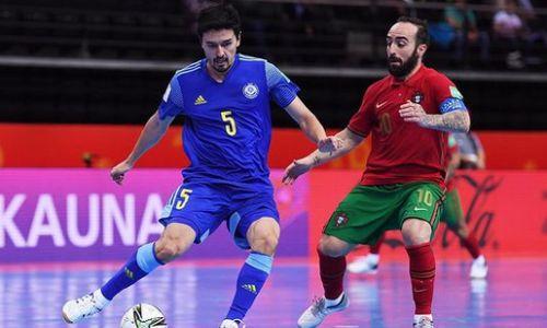 Фоторепортаж с матча полуфинала ЧМ-2021 по футзалу Португалия — Казахстан 2:2, пен. 4:3