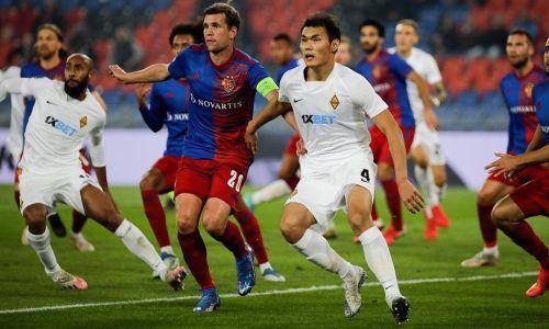 «Кайрат» избежал позора в матче с «Базелем» в Лиге Конференций