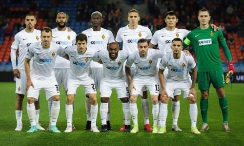 Каково положение «Кайрата» в группе Лиги Конференций после поражения от «Базеля»