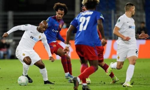 Видеообзор матча «Базель» — «Кайрат» с шестью голами в Лиге Конференций