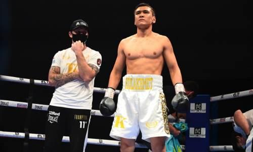 Турсынбай Кулахмет получил бой за титул WBC против нокаутера с 23 победами