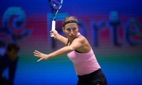 Юлия Путинцева пробилась в полуфинал турнира серии WTA в Нур-Султане