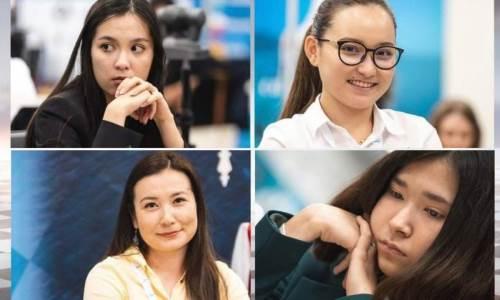 Казахстанские шахматистки уступили в четвертьфинале чемпионата мира