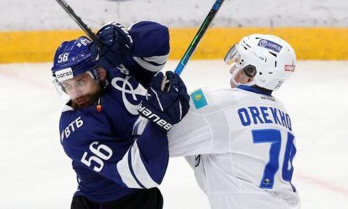В московском «Динамо» озвучили свои потери на матч с «Барысом»