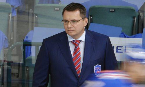 Бывший наставник «Барыса» Назаров провел первую тренировку в своем новом клубе КХЛ. Видео