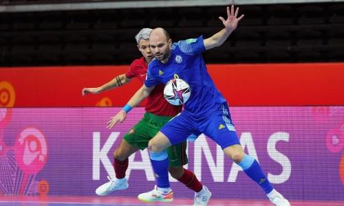 Четверо футзалистов провели юбилейные матчи за сборную Казахстана