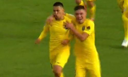 Видео гола Жаксылыкова матча Премьер-Лиги «Жетысу» — «Астана»