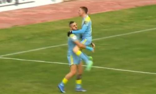 Видеообзор матча Премьер-Лиги «Жетысу» — «Астана» 1:3