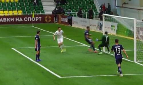 Видео гола Сергеева матча Премьер-Лиги «Тобол» — «Ордабасы»