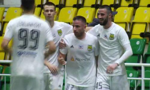 «Тобол» вырвал важнейшую победу над «Ордабасы» благодаря голу Зорана Тошича. Видео