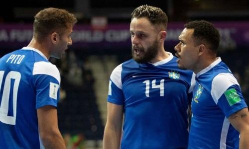Бразильские фанаты волнуются перед матчем с Казахстаном за «бронзу» ЧМ-2021 по футзалу