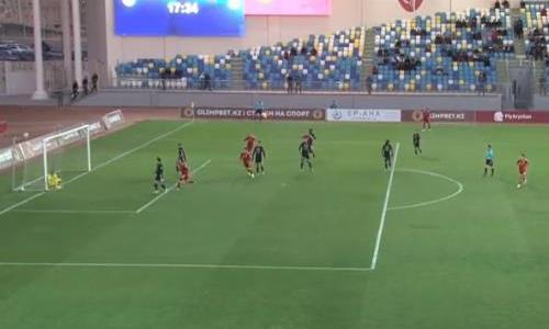 Видеообзор матча Премьер-Лиги «Туран» — «Шахтер» 0:0
