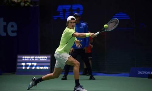 Казахстанский теннисист поборется за титул в Лиссабоне