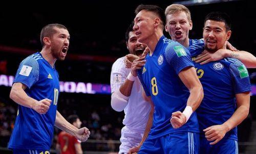 «Все были в эйфории». Сборную Казахстана по футзалу назвали лучшей спортивной командой в стране