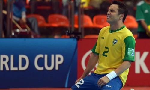 Сборная Казахстана испугала Бразилию перед матчем за «бронзу» ЧМ-2021 по футзалу