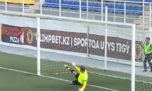 Видео гола Залеского матча Премьер-Лиги «Каспий» — «Кызыл-Жар СК»
