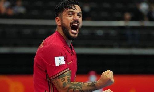 Игрок сборной Португалии рассказал о тяжелом матче с Казахстаном в полуфинале ЧМ-2021 по футзалу