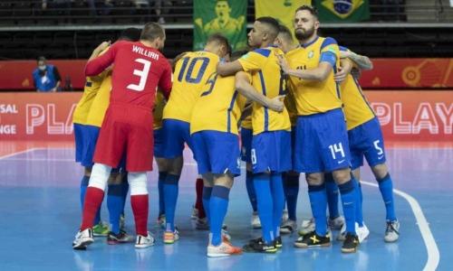 Сборная Бразилии получила мотивацию перед матчем с Казахстаном за «бронзу» ЧМ-2021 по футзалу