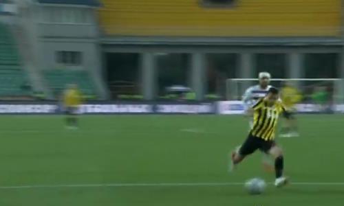 Видео первого гола Жоао Пауло за «Кайрат» в матче Премьер-Лиги с «Акжайыком»