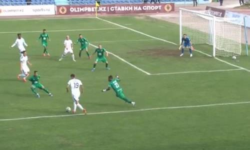 Видеообзор матча Премьер-Лиги «Тараз» — «Атырау» 2:2