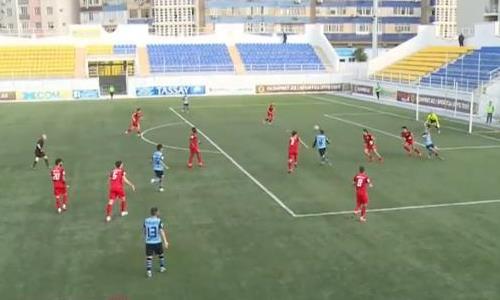 Видеообзор матча Премьер-Лиги «Каспий» — «Кызыл-Жар СК» 1:2